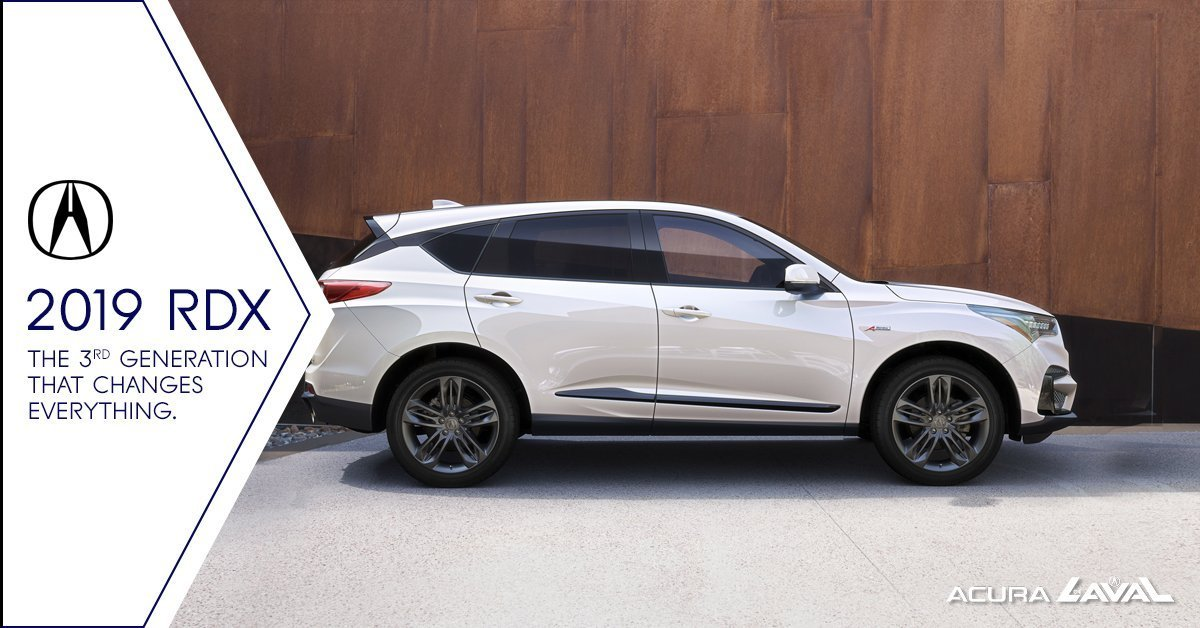 The 2019 Acura Rdx The 3rd Generation That Changes Everything